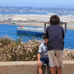 Watching ships