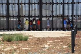 Visitors at Friendship Park along the U.S.-Mexico border