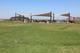 Picnic area on Monument Mesa