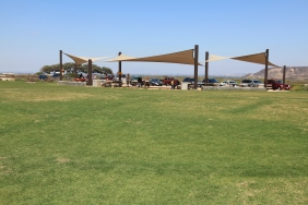 Picnic area on Monument Mesa