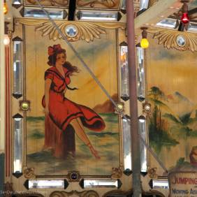 Painting on carousel