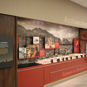 Archaeology display