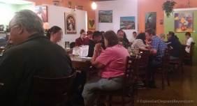 Diners enjoying Ranas Mexico City Cuisine