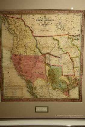 Texas, Oregon, California, 1846