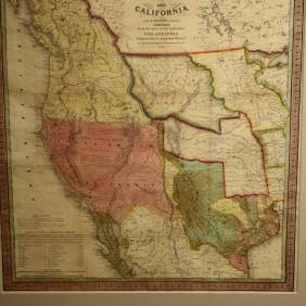 Texas, Oregon, California, 1846