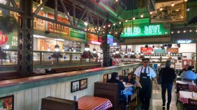 Inside Portillo's Moreno Valley location.