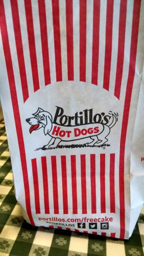 Even dine-in orders are delivered in a bag.