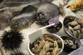 Fresh seafood from Fishbone Kitchen