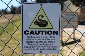 One of several warning signs