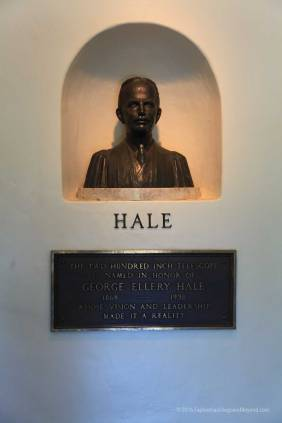 Bust of Hale in the entrance
