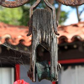 Weathered pulley