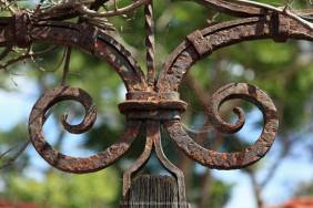 Cast iron detail