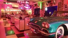 Entrance to Corvette Diner