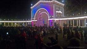 Spreckels Organ Pavilion at December Nights