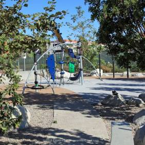 Playground at Fault Line Park