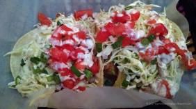 Ahi Tuna fish tacos