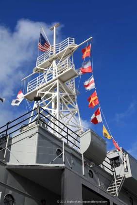 USS Recruit mast
