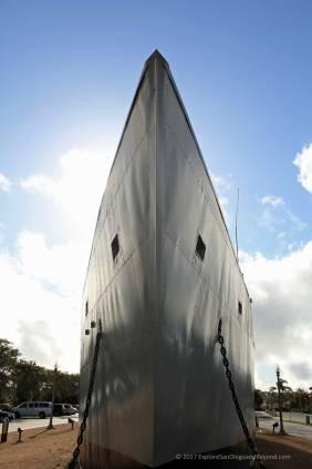 USS Recruit bow